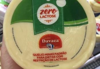 Queijo Minas Padrão Zero Lactose Davaca