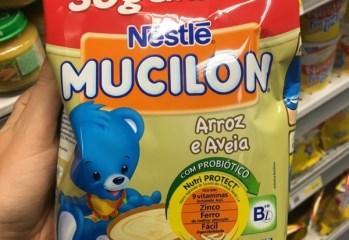 Mucilon Arroz e Aveia Nestlé