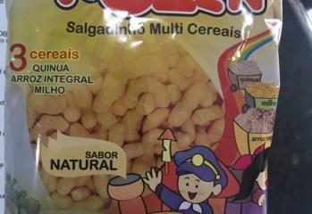 Salgadinho Multi Cereais Sabor Natural Rozen Okoshi