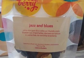 Mix Castanha do Brasil com Damasco e Blueberry Jazz and Blues Best Berry