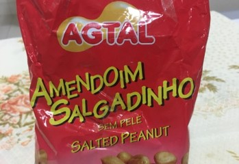 Amendoim Salgadinho Sem Pele Agtal