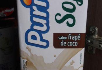 Bebida de Soja Sabor Frapê de Coco Purity Cocamar