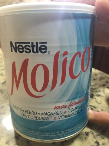 Leite em Pó Desnatado Molico Total Cálcio Nestlé