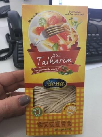 Macarrao Mini Talharim Siena