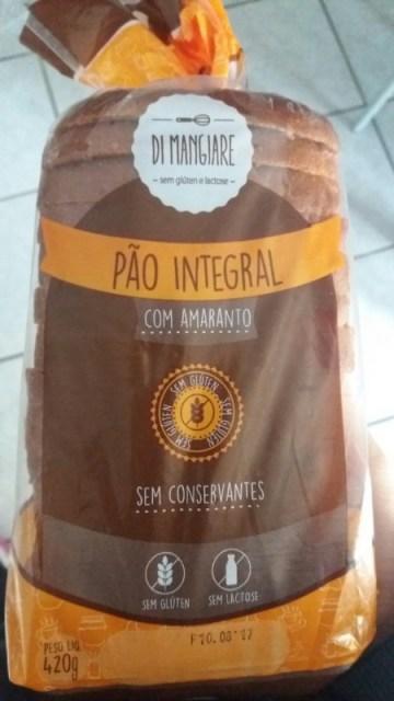 Pão Integral Com Amaranto Di Mangiare