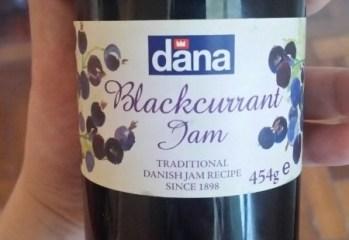 Geleia de Cassis Blackcurrant Jam Dana
