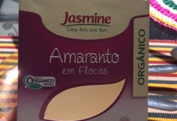 Amaranto em Flocos Orgânico Jasmine
