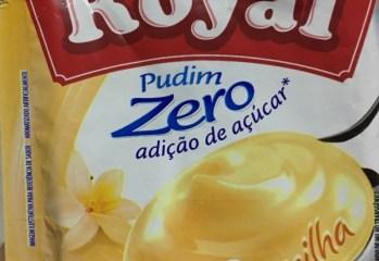 Pudim Zero Sabor Baunilha Royal