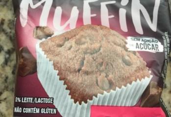 Muffin Double Chocolate Sem Adição de Açúcar Belive