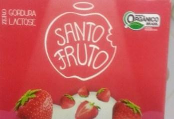 Sorbetto de Morango Orgânico Santo Fruto