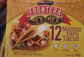 Massa Para Tacos Tex Mex Frontera