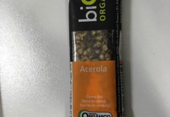 Barra de Frutas Orgânica Acerola Bio2