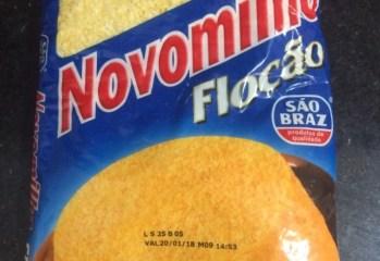 Farinha de Milho Flocada Novomilho Flocão São Braz