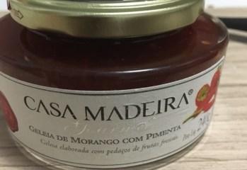 Geleia de Morango com Pimenta Casa Madeira