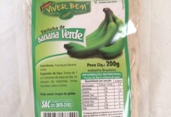 Farinha de Banana Verde Viver Bem