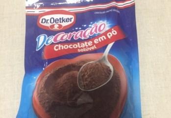 Chocolate em Pó Solúvel Dr. Oetker