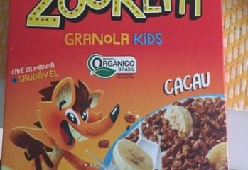 Granola Kids Cacau Zooreta Orgânico Mãe Terra