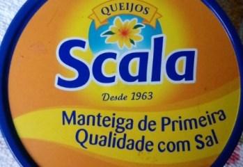 Manteiga de Primeira Qualidade com Sal Queijos Scala
