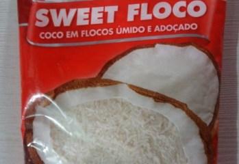 Coco em Flocos Úmido e Adoçado Sweet Floco Sococo