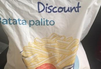 Batata Palito Congelada Carrefour Discount