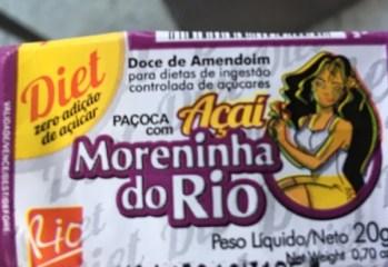 Paçoca com Açaí Diet Moreninha do Rio