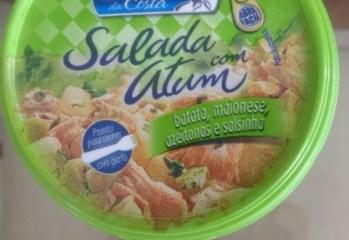 Salada com Atum Batata, Maionese, Azeitonas e Salsinha Gomes da Costa