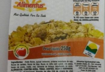 Granola Com Soja Alimentus