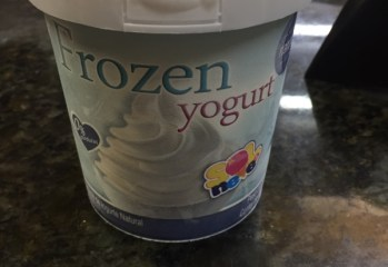 Frozen Yogurt Sol Neve