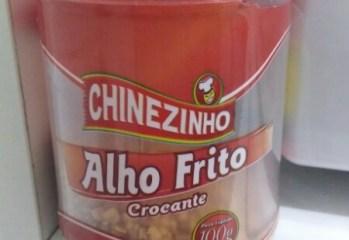 Alho Frito Crocante Chinezinho