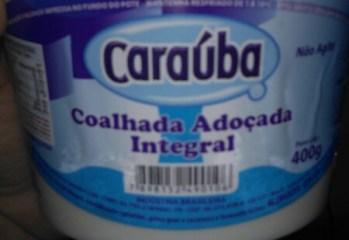 Coalhada Adoçada Integral Caraúba