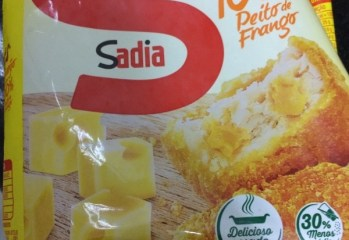 Nuggets Queijo Sadia