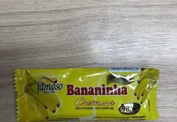 Doce de Banana Bananinha Cremosa Doce Famoso