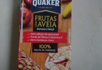 Barra de Frutas com Aveia Sabor Banana e Maçã Quaker