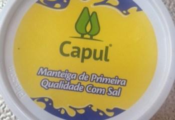 Manteiga de Primeira Qualidade Com Sal Capul