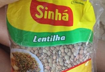 Lentilha Sinhá