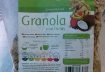 Granola Com Frutas Martigran