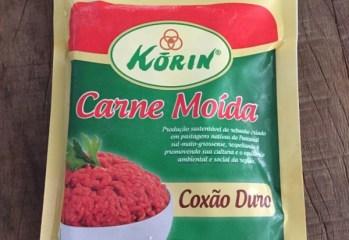 Carne Moída Coxão Duro Korin