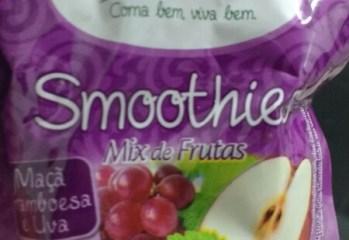 Smoothies Mix de Frutas Maçã, Framboesa e Uva Jasmine