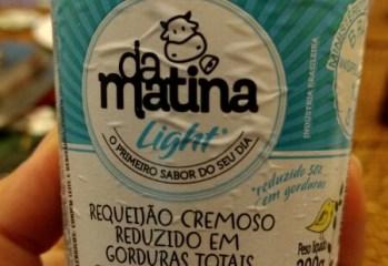 Requeijão Cremoso Light Da Matina
