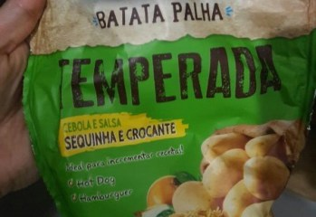 Batata Palha Temperada Cebola e Salsa Visconti