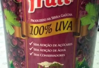 Suco de Uva Tinto Integral La Fruit