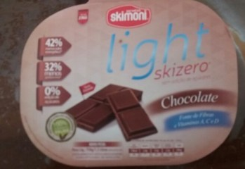 Sorvete Chocolate Light Skizero Skimoni