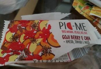 Barra de Frutas Goji Berry e Chia Pic-Me