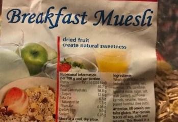 Breakfast Muesli Viola