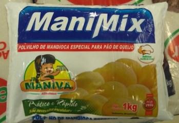Polvilho de Mandioca Especial para Pão de Queijo Manimix Maniva