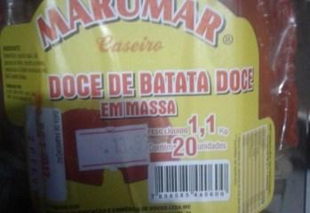 Doce de Batata Doce em Massa Marumar