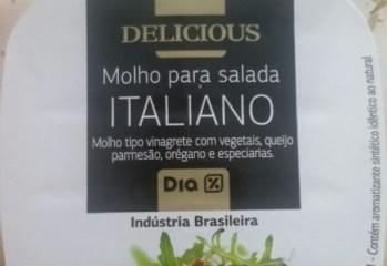 Molho para Salada Italiano Delicious Dia