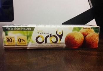 Natural Energy Balls Mix de Grãos Naturais Sabor Tradicional Orby