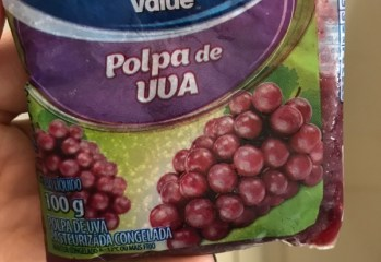 Polpa de Uva Pasteurizada Congelada Great Value