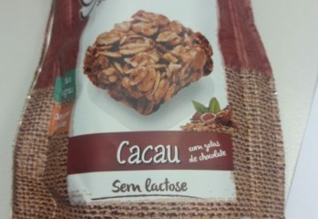 Snacks de Granola Sabor Cacau Granó Da Magrinha